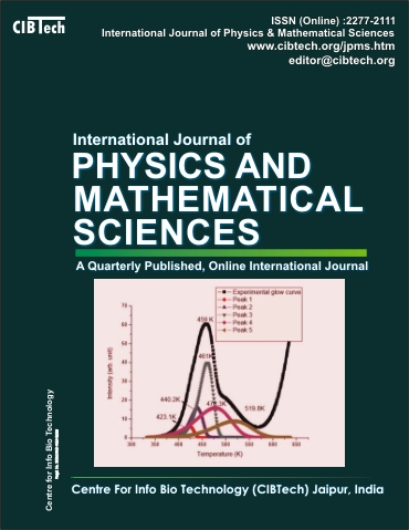 International Journal of Physics and Mathematical Sciences